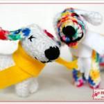 Häkelhund: Lätty & Lotti - Hund gehäkelt