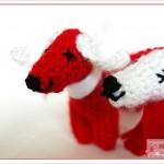 Häkelhund: Pipp & Emma, Hund gehäkelt