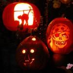 Im Detail: Halloween Kürbis Schnitzen 2009
