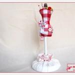 Nadelkissen Schneiderpuppen - pin cushion dress doll