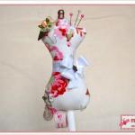 Nadelkissen Miniatur-Schneiderpuppe - Dress Form Pin Cushion