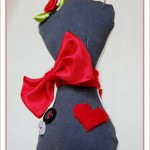Nadelkissen Miniatur-Schneiderpuppe - Dress Form Pincushion