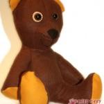 """Filz-Teddy """"Lollipop"""""""