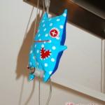 Das blaue Büro-Monster - so eins ist auch schon als Geschenk in neuen Kinderhänden