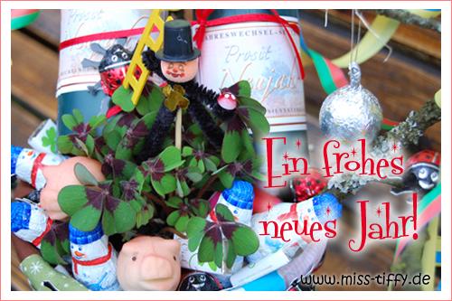Miss Tiffy wünscht ein frohes neues Jahr!