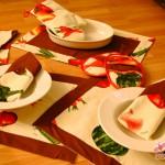 Küchenset: die Topflappen und Tischsets