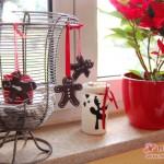 Warten auf den Weihnachtsbaum: Lebkuchenmann-Anhänger