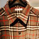 Kariertes Herrenhemd (burda) aus Wollstoff für den binenstich-Liebsten