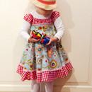 Verlängerte Elodie von Farbenmix im Rahmen des Sommermädchen-Sew-Alongs