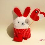 Be my Valentine! Der kleine Liebeshase!