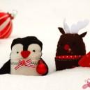 Weihnachts-Edition der Little Friends