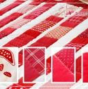 Quilt rot/weiß