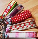 Schlüsselbänder mit Kunstleder - Geschenk