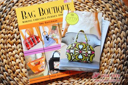 Schnittmuster für Taschen: Sophia Carry-All und die Bag Boutique