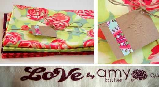 So schön - Stoffe für Miss Tiffy von Amy Butler aus der Love-Kollektion