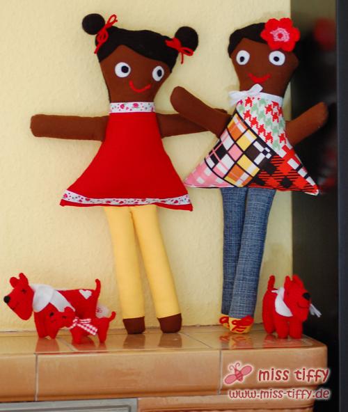 Reisen bald nach Haiti: Meine ersten 2 Puppen