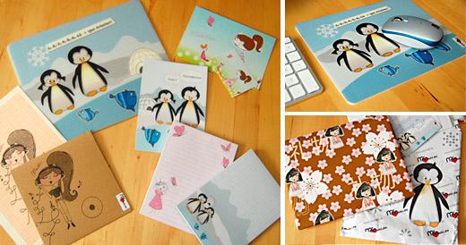 Schätze für Tiffy von mymaki: Mousepad, Blöcke, CD-Hülle und mehr.