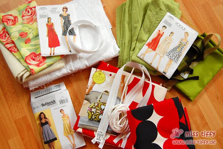 Kommende Nähpläne: Kleider & Tasche