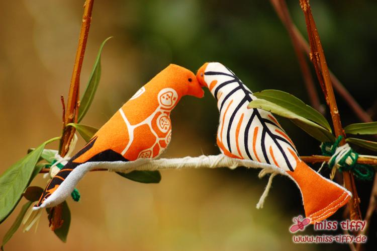 Binenstich » Vogel aus SToff