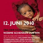 Wärme schenken zur WM: Aktion zum Tag der Handarbeit