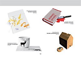 Das DaWanda Lovebook Winter 2010 - hier mit Räucherhäuschen