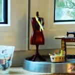 Erster Einsatz auf der Fensterbank mit passender Teelicht-Hülle