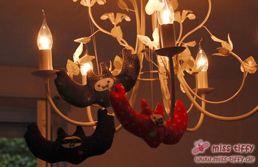 Boo! Vampirfledermäuse in Tiffyhausen.