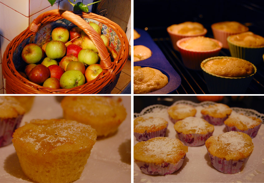 Mmhmm... Apple Pie Cupcakes ♥