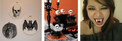 Noch mehr schöne Ideen für Halloween.