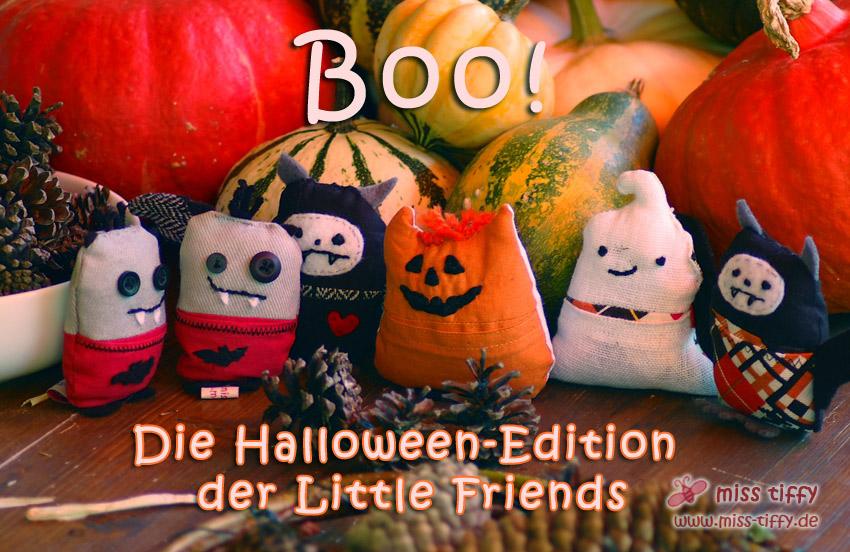 Boo! Die Halloween-Edition der Little Friends.