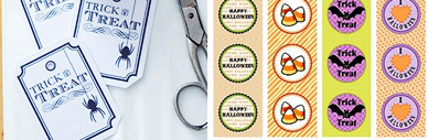 Freebies: Printables zu Halloween