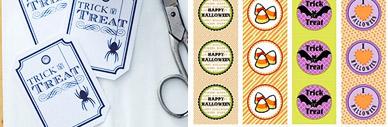 Freebies: Printables zu Halloween