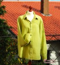 Langärmliges Herrenhemd aus der burda style 4/2010, Modell 128