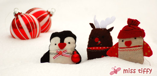 Endlich fertig: Die XMAS-Edition der Little Friends