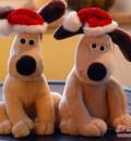 Immer dabei: unsere Gromits mit Eierwärmer-Weihnachtsmützen