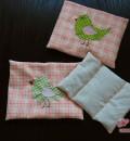 Geteiltes Innenkissen und flauschige Flannel-Hüllen