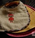 Fertig: 3 Sabberlätzchen für das Tiffybaby