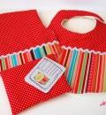 Süßes Geschenkset für Babys, zum Beispiel zur Geburt oder Taufe