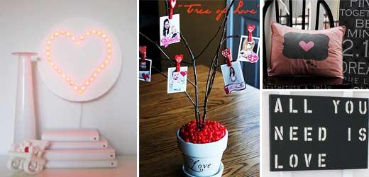 Ideen zum Valentinsbasteln, gesammelt unter anderem auf Taterots & Jello