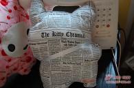 """Rückseite: einer meiner Lieblingsstoffe, """"The Kitty Chronical"""""""