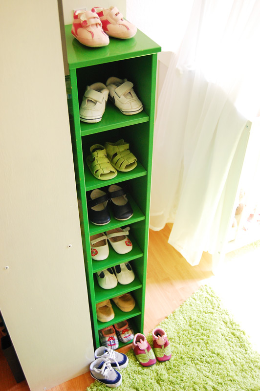 Babys Schuhschrank Wie Immer Passt Nicht Alles Rein