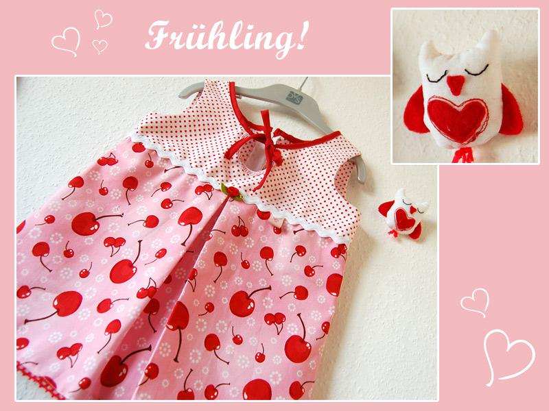 Frühling ♥ Kleidchen ♥ Nähen ♥ | Binenstich