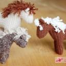 Kleine Pferdeherde: Anleitung für das Häkelpferd