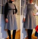 Simplicity 3673 (bzw. 7275 in der deutschen Version). Mein Weihnachtskleid 2012
