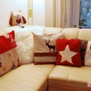 Die Winter-Weihnachtskissen sind fertig!!
