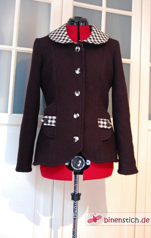 Abbey Coat - diesmal als Jacke