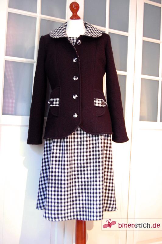 Abbey Coat und Simplicity-Weihnachtskleid