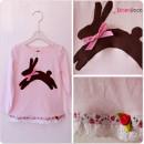 Oster-Hasen-Shirt für's Fräulein