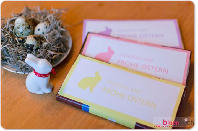 Fertig zum Verschenken! Frohe Ostern!