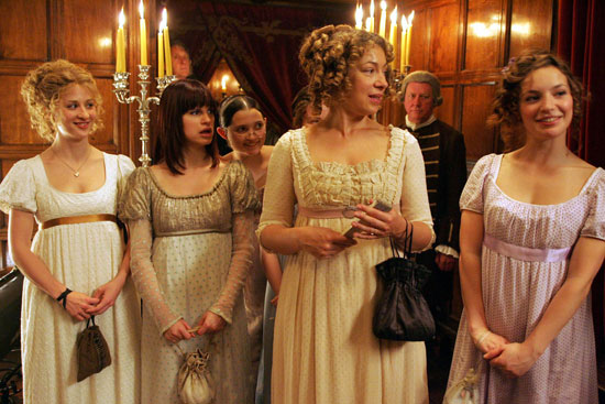 Lost in Austen - Empire-Kleidchen als Bauchverstecker